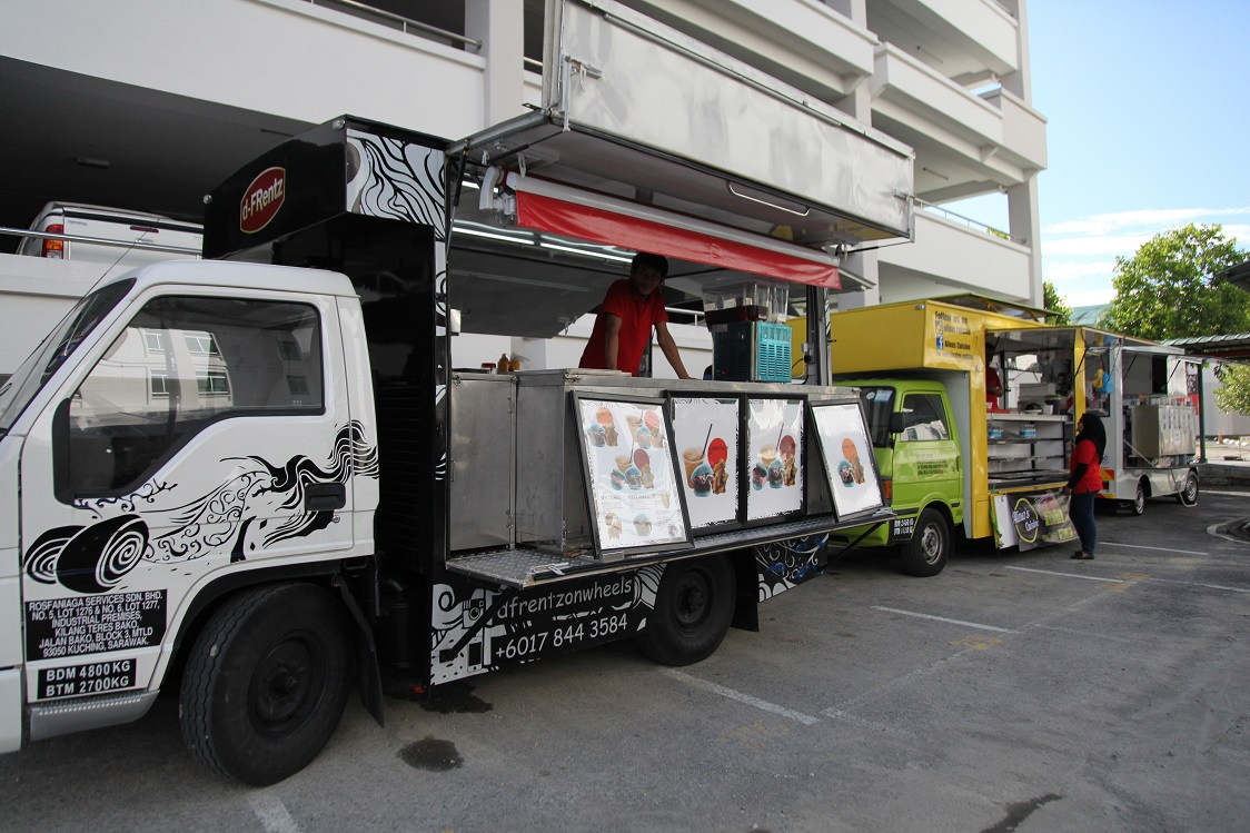 Food trucks were a hit at last year's bazaar.