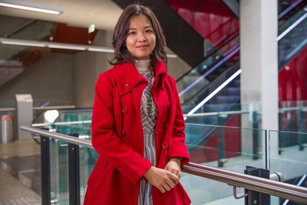 Jong Siu Mei, final-year PhD (Biotechnology and Cardiac Diseases) student.