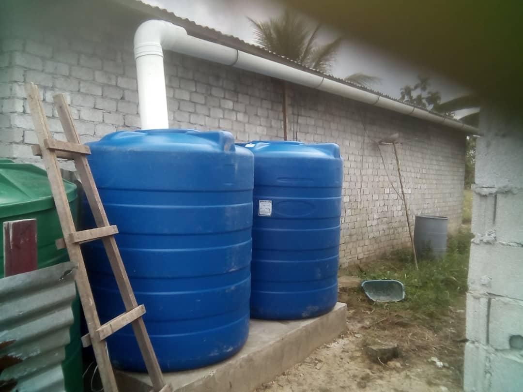 New rainwater harvesting system designed by the team from Swinburne.