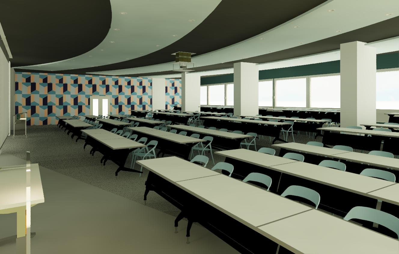 Lecture Hall for Building B