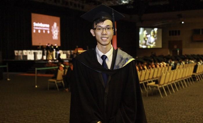 Student Response representative Edwin Thou Mun Chuen