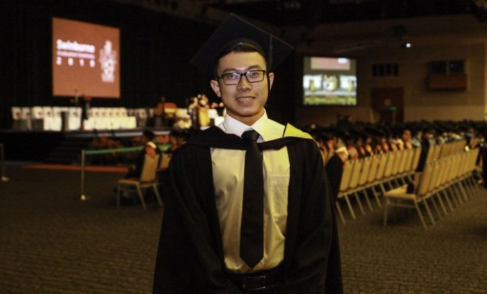 Student with special needs Leong Man Tik