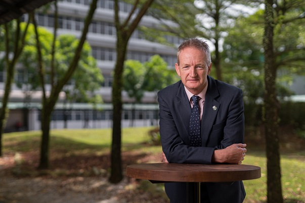 Swinburne's Deputy Vice-Chancellor and Chief Executive Officer Professor John Wilson.